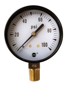 Ametek USG Model P-500 2.5in 0-100 PSI Pressure Gauge