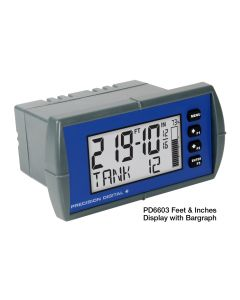 Precision Digital PD6603 Process Meter with Feet & Inches Display