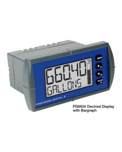 Precision Digital PD6604 Process Meter with Bargraph Display